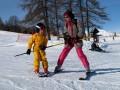 Ecole de ski à Serre Chevalier